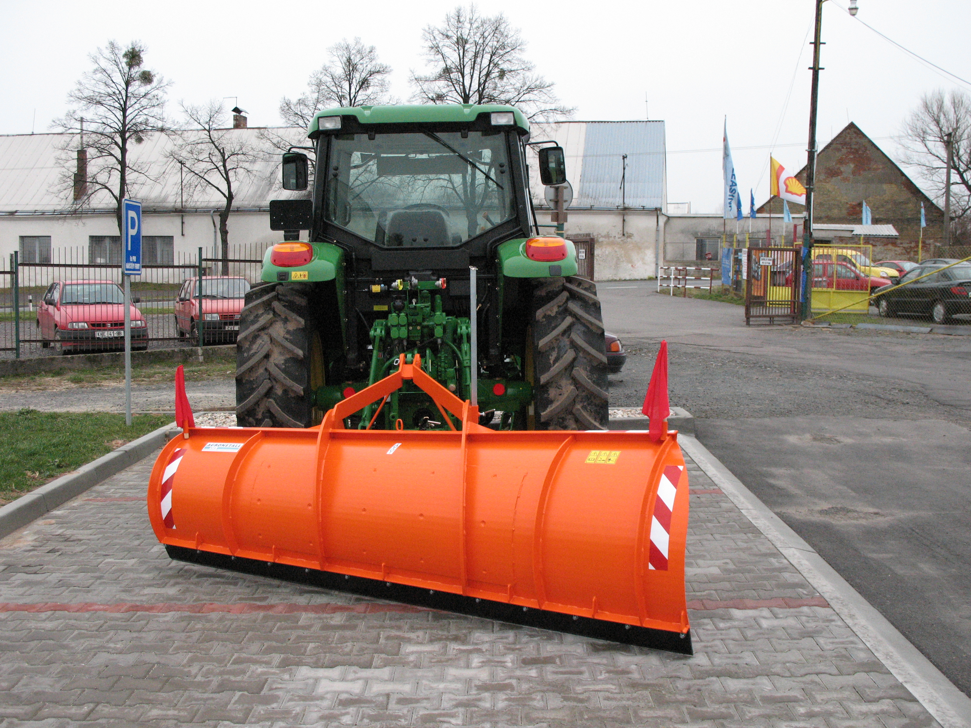 Rear plough ZR-T